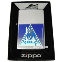 イギリスのロックバンド「デフ・レパード」のZIPPO
