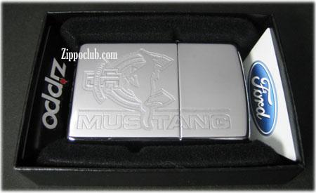 フォード・マスタング・45周年ジッポー Ford Mustang 45th Anniversary