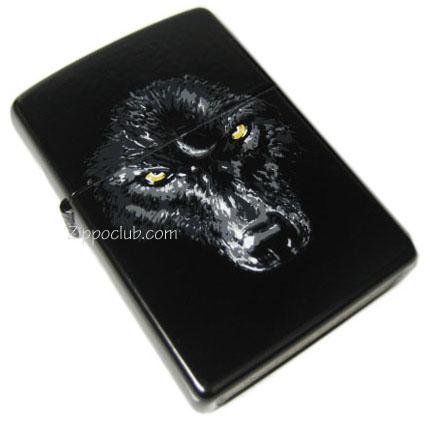 ブラック・ウルフ・ジッポー Black Wolf Zippo