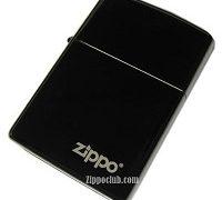 エボニー・ジッポー(ZIPPOロゴ入り) Ebony w/Zippo
