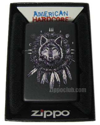 ウルフ・アメリカン・ハードコア – Zippo Wolf American Hardcore