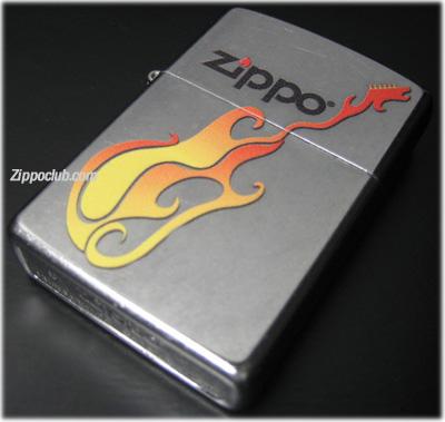 ジッポー・フレーミング・ギター Zippo Flaming Guitar