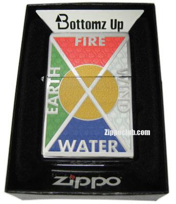 アース/ウィンド/ファイヤー/ウォーター・ジッポー Earth,Wind,Fire,Water Zippo