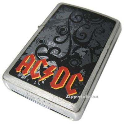 AC/DC レッド・ロゴ・ジッポーライター