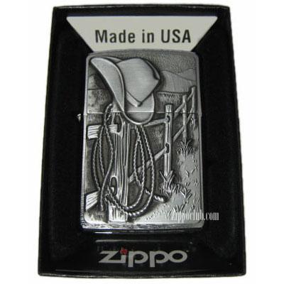 レスティング・カウボーイ - Zippo Resting Cowboy