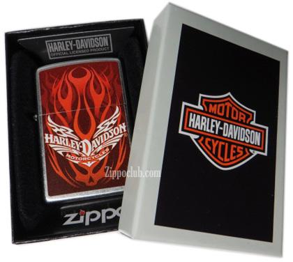 ハーレーダビッドソン・ジッポー Harley Davidson (Flame Skull)