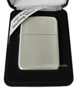 1941レプリカ・ハンドサテン・スターリングシルバー・ジッポー Hand Satin Sterling Silver