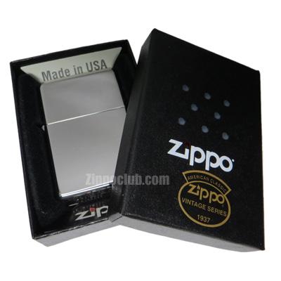 ビンテージ・ハイ・ポリッシュ・クロム・ジッポーライター Zippo Vintage High Polish Chrome
