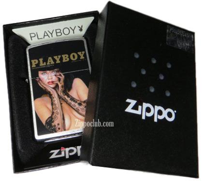 プレイボーイ・カバー・ディセンバー1988ジッポーライター Playboy Cover Dec. 1988 Zippo