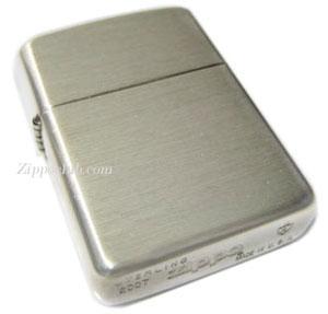 アーマー・ブラッシュド・スターリングシルバー・ジッポー Armor Brushed Sterling Silver