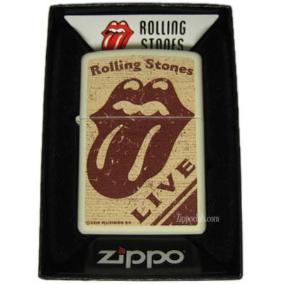 ローリング・ストーンズ・ライブ・ジッポーライター Rolling Stones Live Zippo