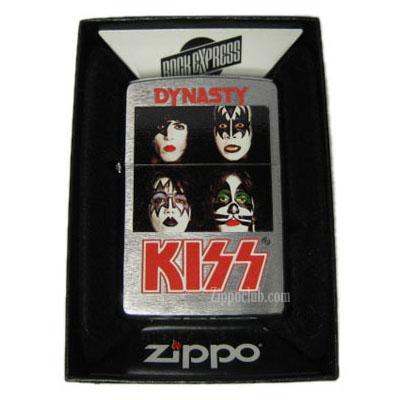 KISSダイナスティ・ジッポーライター KISS DYNASTY Zippo