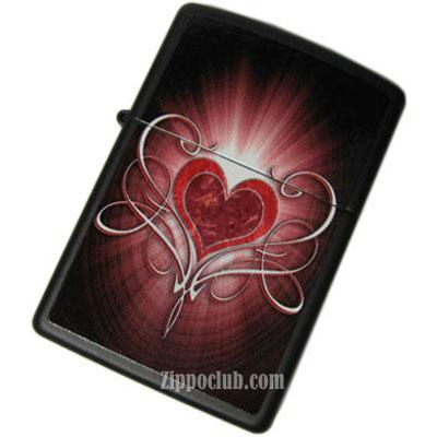ハート・ジッポーライター - Heart