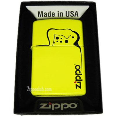 ジッポーライター・レモンマット  Zippo Lighter Lemon Matte
