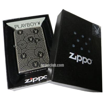 プレイボーイ・スパイラル・ジッポー Playboy Spiral Zippo