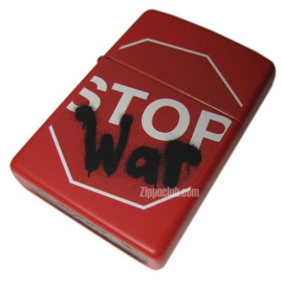 ストップ・ウォー・ジッポー Stop War Zippo