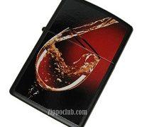 グラスワイン - Zippo Glass of Wine