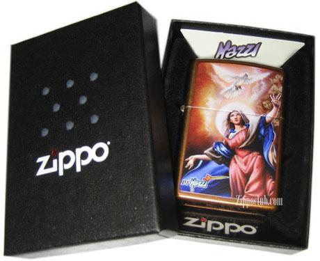 聖母マリア様をイメージしたZIPPO