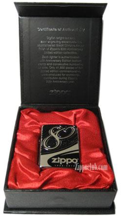 ジッポー創業80周年記念リミテッドエディション – Zippo 80th Anniversary Limited Edition