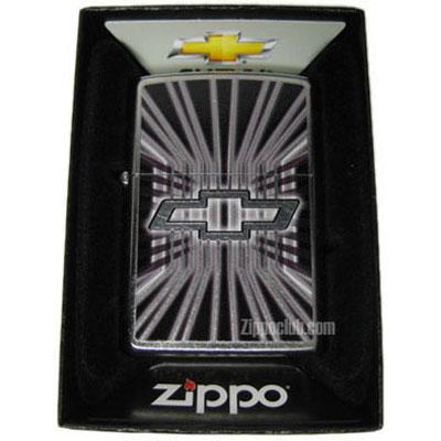 シボレー・ボウタイ - Zippo Chevy Bowtie Street Chrome