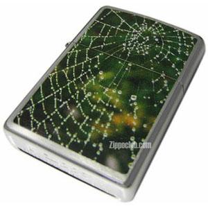スパイダーウェブ・レインドロップ・ジッポー Spider Web Rain Drop Zippo