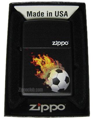 炎のサッカーボールZIPPO