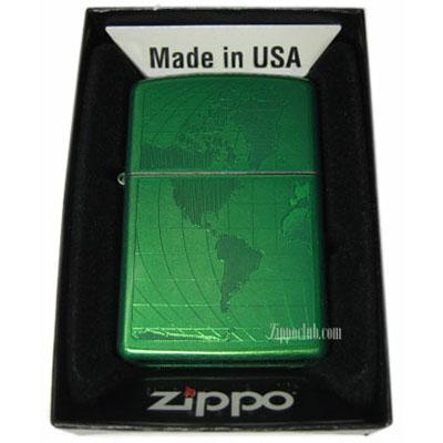 アイスド・ワールド・ジッポー Iced World Zippo