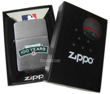フェンウェイ・パーク100年ジッポーライター Fenway Park 100 Years Zippo