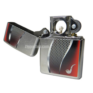 パイプ・ライター・レッド Pipe Lighter Red Street Chrome