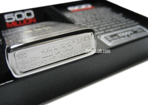 500ミリオン・レプリカ・エディションZIPPO 500 Million Replica Edition Zippo