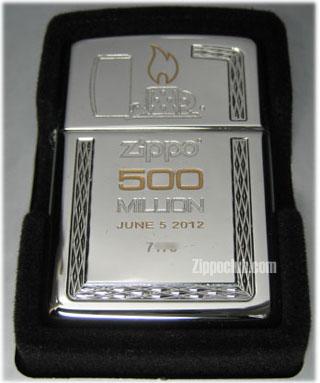 500ミリオン・リミテッド・エディション・ジッポーライター