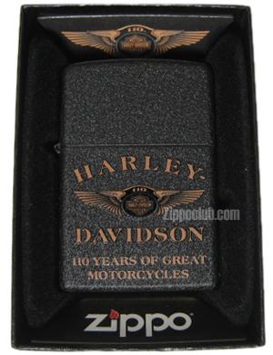 ハーレーダビッドソン110年ジッポー Harley Davidson 110th Zippo