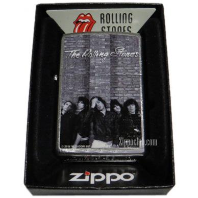 ローリング・ストーンズ・ストリート・クロム・ジッポー Rolling Stones Zippo