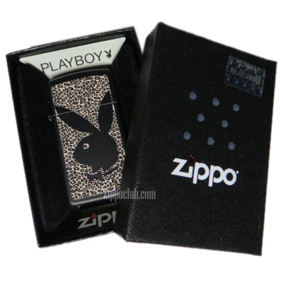 プレイボーイ・スリム・ジッポーライター Playboy Slim Zippo