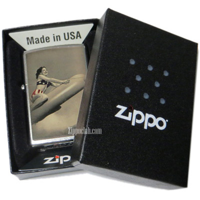 ロケットガール・ジッポーライター Rocket Girl Zippo