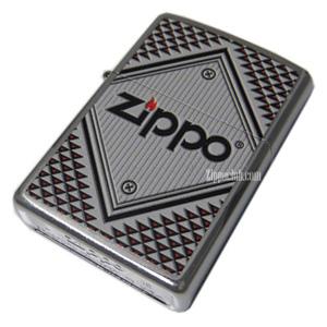 ZIPPOレッド&クロム Zippo Red & Chrome