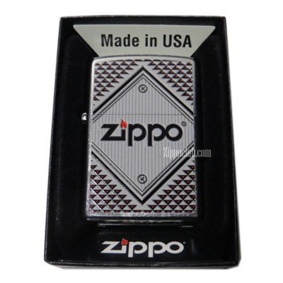 ZIPPOレッド&クロム Zippo Red & Chrome Zippo