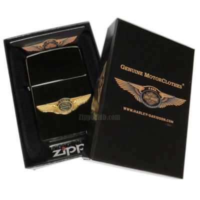 ZIPPO Harley Davidson 110th Emblem ハーレーダビッドソン110周年エンブレム