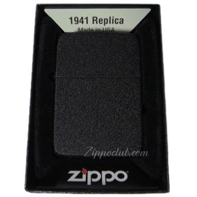 ブラック・クラッケル 1941レプリカ・ジッポー Black Crackle 1941 Replica Zippo