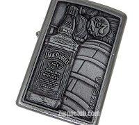 ジャックダニエル・ボトル&バレル - Zippo Jack Daniel Bottle-Barrel