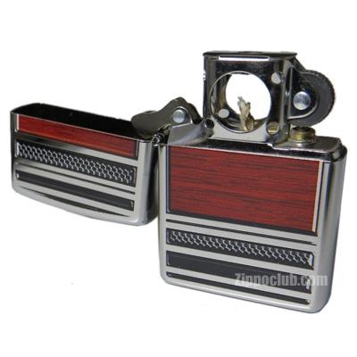 スティール&ウッド・パイプライター Steel and Wood Pipe Lighter