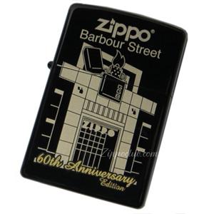 60周年・バーバー・ストリート・ジッポーライター