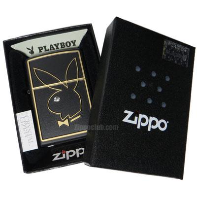 プレイボーイ・エンブレム・ジッポーライター Playboy Emblem