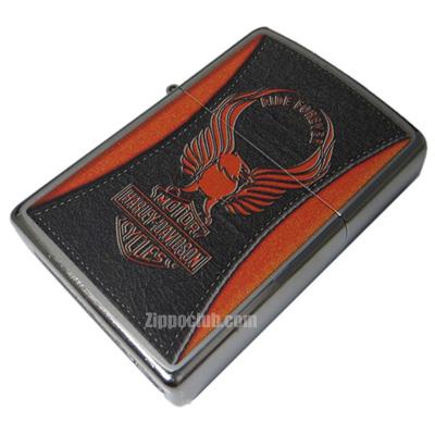 ハーレー・ダビッドソン・オレンジ・イーグル Zippo Harley Davisdon Orange Egale