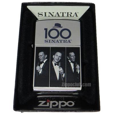 フランク・シナトラ生誕100年のZIPPO