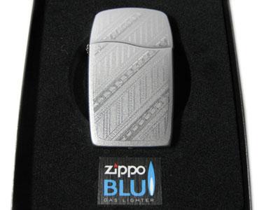 ジッポー・ブルー・クロム・パスウェイズ Zippo Blu Chrome Pathway