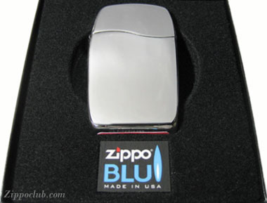 ジッポー・ブルー「ブルー」 ZIPPO BLU-BLU High Polish