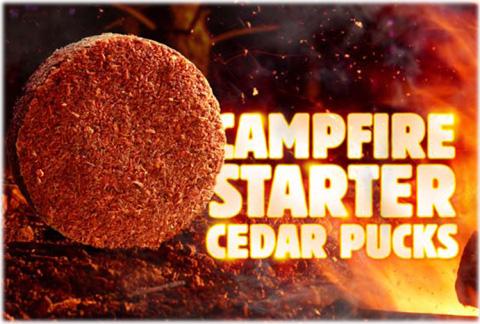 キャンプファイヤー・スターター Campfire Starter