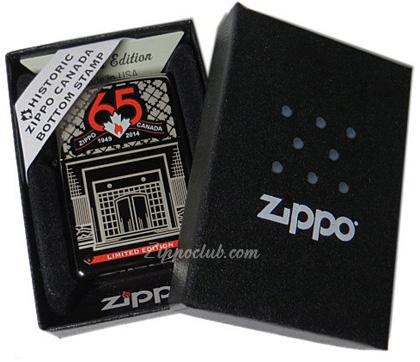 ジッポーカナダ65周年 65th Anniversary Zippo Canada