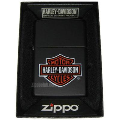 ZIPPO ハーレーダビッドソン・ロゴ・ブラックマット